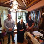 Tον Σεβασμιότατο κ.κ. Ιωήλ συνάντησαν οι εκπρόσωποι του Πανελλήνιου Σωματείου Συμβασιούχων Πυροσβεστών (ΠΑ.Σ.ΣΥ.Π), Πέτρος Φερεκίδης και Φίλιππος Δομπρούδης