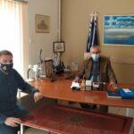 Συνάντηση με τον Βουλευτή Έβρου κ.Αναστάσιο Δημοσχάκη είχε ο Υπεύθυνος της Ανατολικής Μακεδονίας και Θράκης του Σωματείου μας Ζαφείρης Θεοδωρίδης